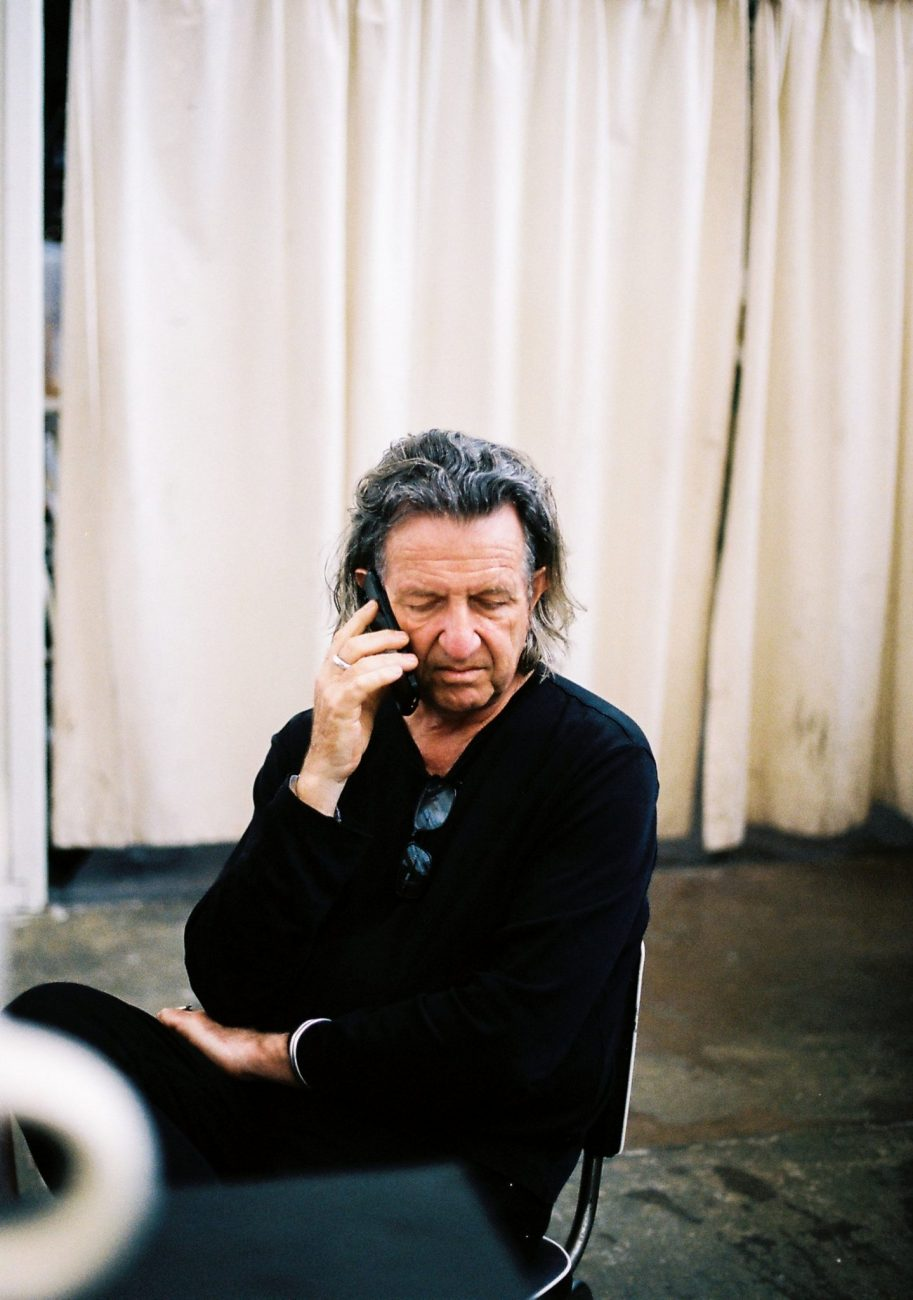 Richard-Goodwin-sitting-and-talking-on-the-phone